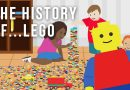 The history of LEGO cartoon