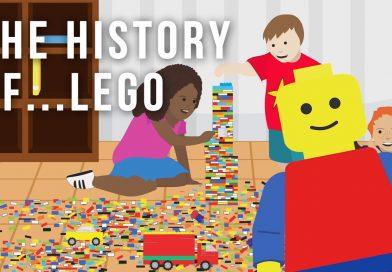 The history of LEGO cartoon